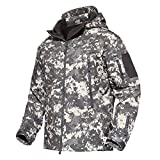 Product review for MAGCOMSEN Men's Tactical Army Outdoor Coat Camouflage Softshell Jacket Hunting Jacket