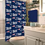 Northwest NFL New England Patriots Shower Curtain