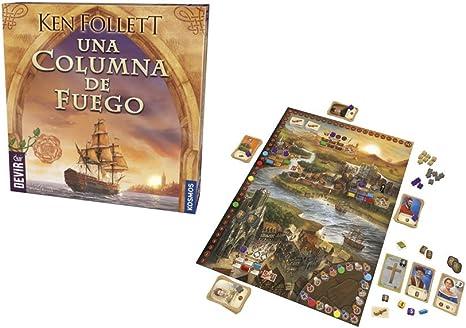 Devir BGCOLUMNA. Juego de mesa Una Columna de Fuego. Edicion en castellano: Amazon.es: Juguetes y juegos