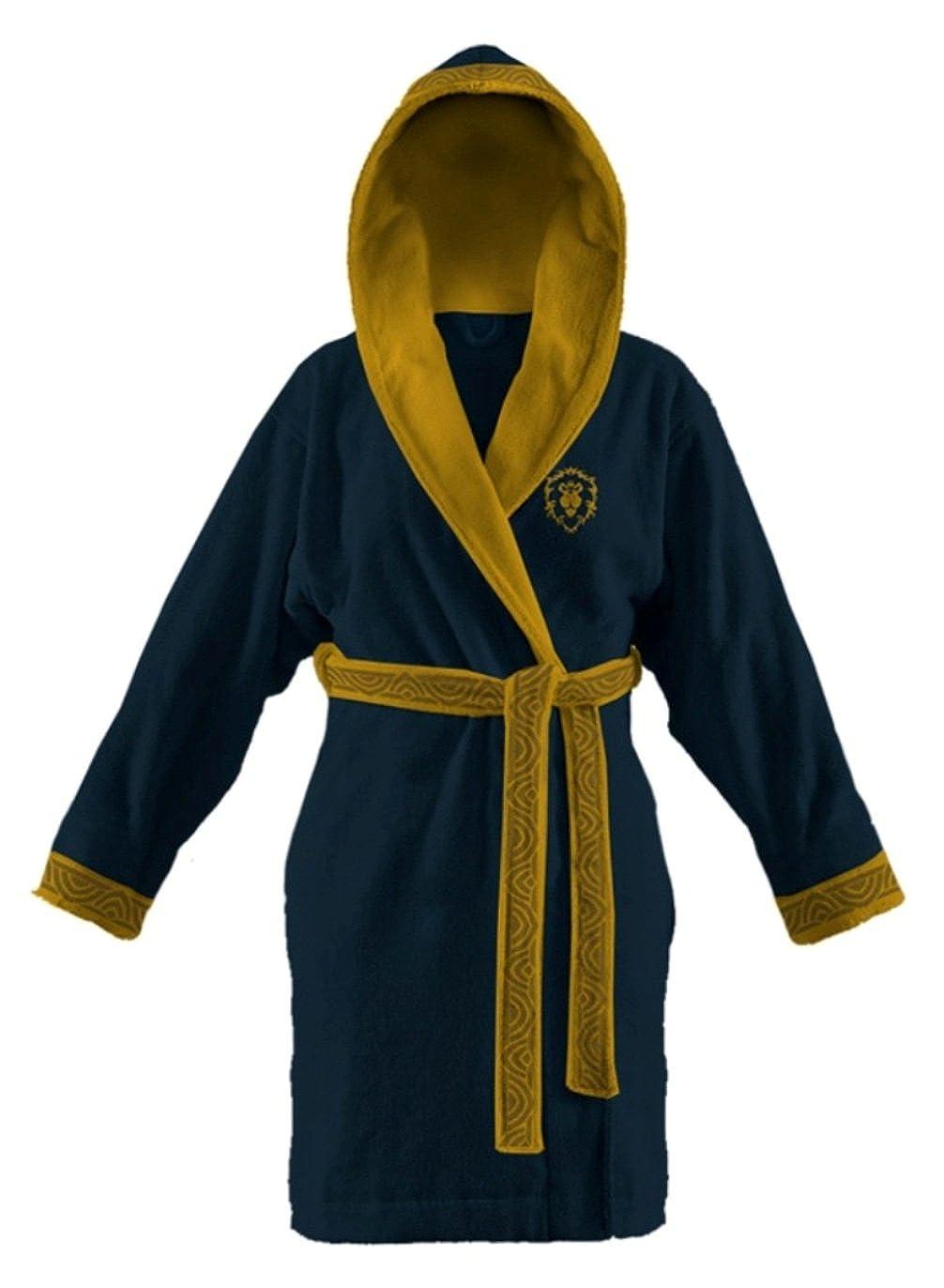 Amazon.com: World of Warcraft Womens Alliance Cotton Robe (One Size ...