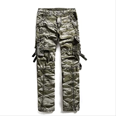 GZKKSH Overol Pantalones de chándal de Camuflaje para Hombre 34 ...