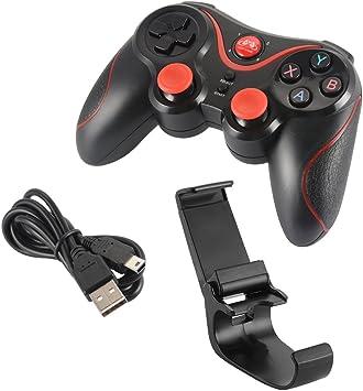 Kreema GEN GAME S5 Wireless BT Game Controller Joystick Gamepad con soporte para telefono Android Smartphone Tablet PC TV Box Windows: Amazon.es: Electrónica
