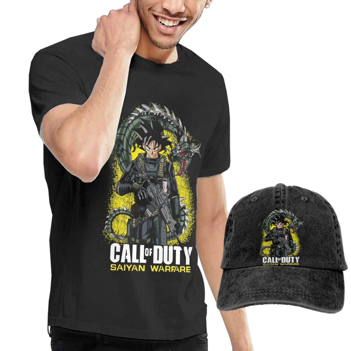 Hfusih.fhs6f789 Funny Goku /& Vegeta Adult Cap Adjustable Cowboys Hats Baseball Cap S Black