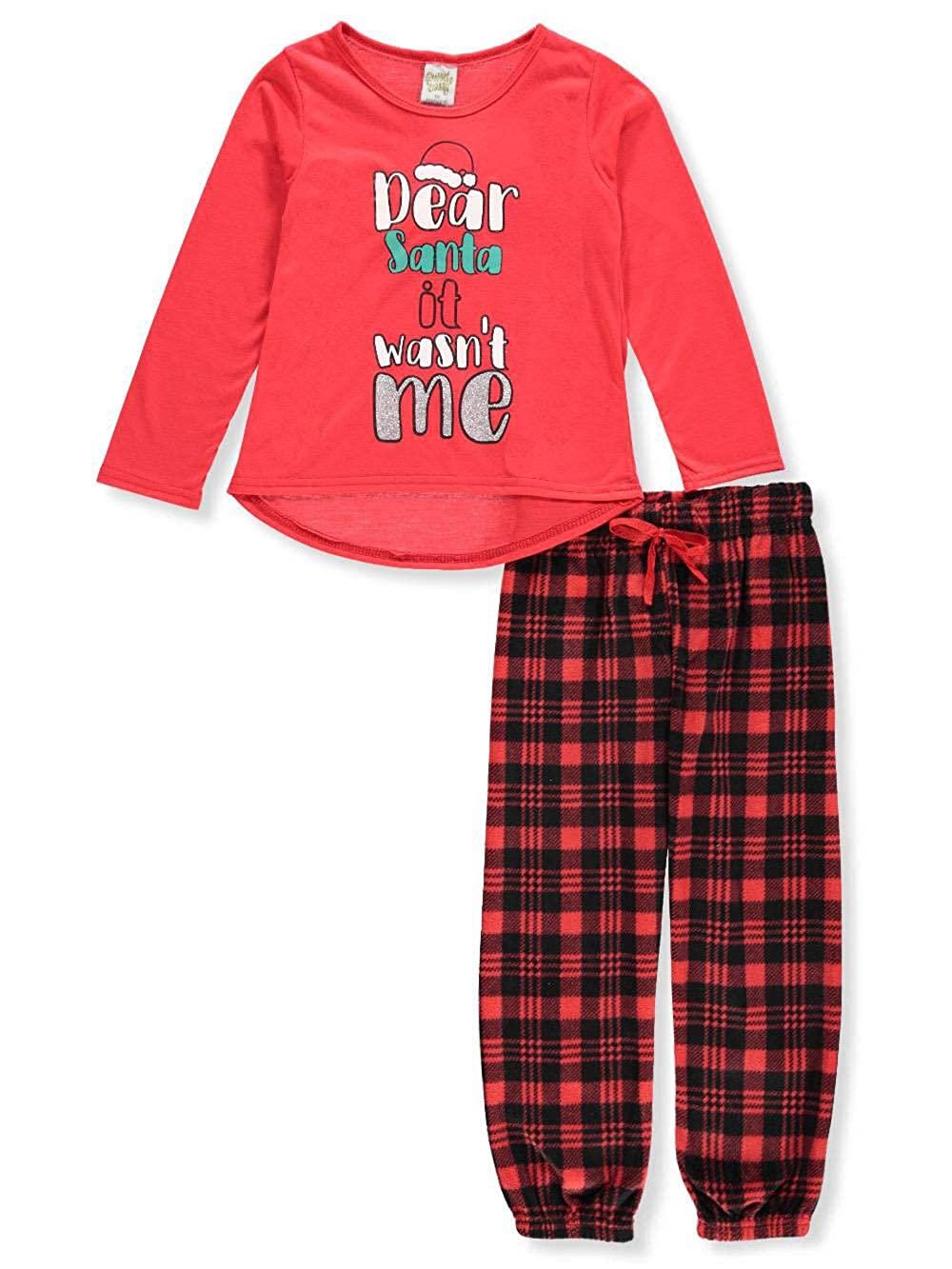Sweet n Sassy Girls' 2-Piece Pajamas