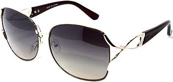 aca01a6b73 NG46-2 Amber Elegant Oversized Women s Sunglasses UV400CE Gradient Lens