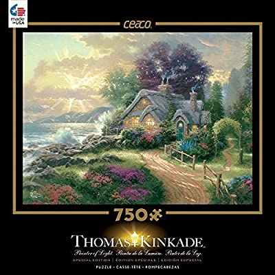 Ceaco Thomas Kinkade Special Edition A New Day Dawning Puzzle By Ceaco