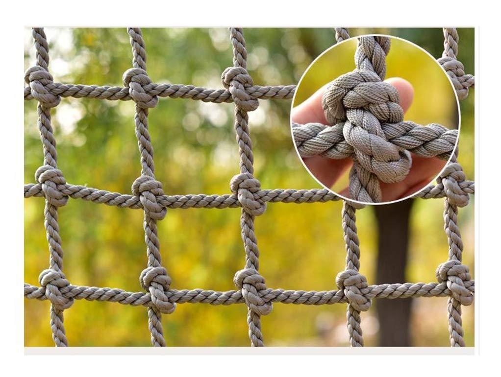 バルコニー階段落下防止ネットキャンプクライミングネットアウトドアトレーニング開発保護ロープネット子供の遊び場安全ネット(14mm / 15cm) (Color : 14mm/15cm, Size : 1*9m/3.3*29.53ft) 14mm/15cm 1*9m/3.3*29.53ft