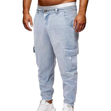 5d85691fc FELZ Pantalones Largos para Hombre