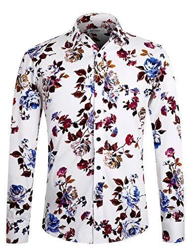 APTRO Sleeve Floral Printing Holiday product image