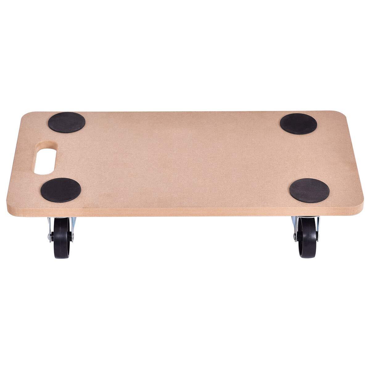 Seleq MDF Platform Dolly - 440 lbs Capacity