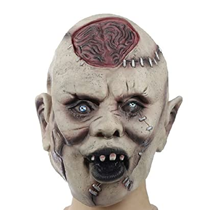 Amazoncom Halloween Mask Mascaras Halloween Latex Scary Mask