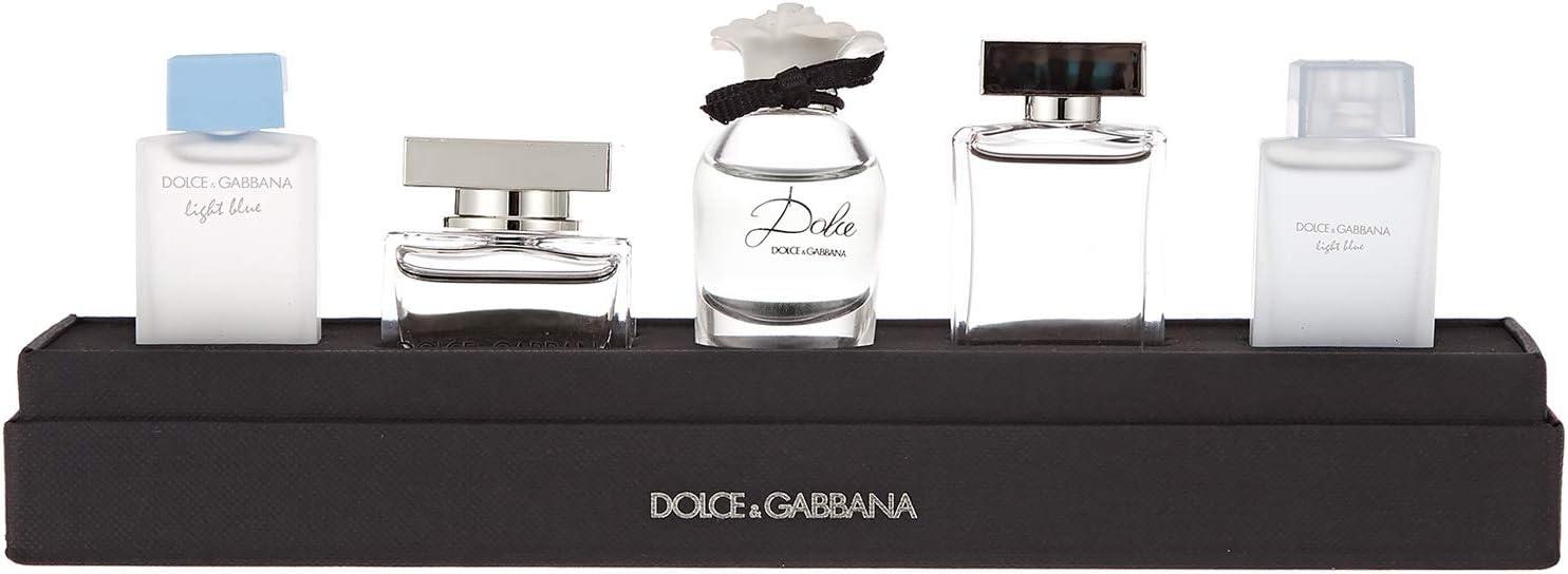 DOLCE & GABBANA SET MINIATURAS x 5 SET REGALO: Amazon.es: Belleza