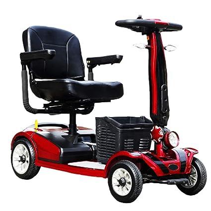 KMCQA 4 Ruedas de Movilidad Scooter Adulto Vehículo ...