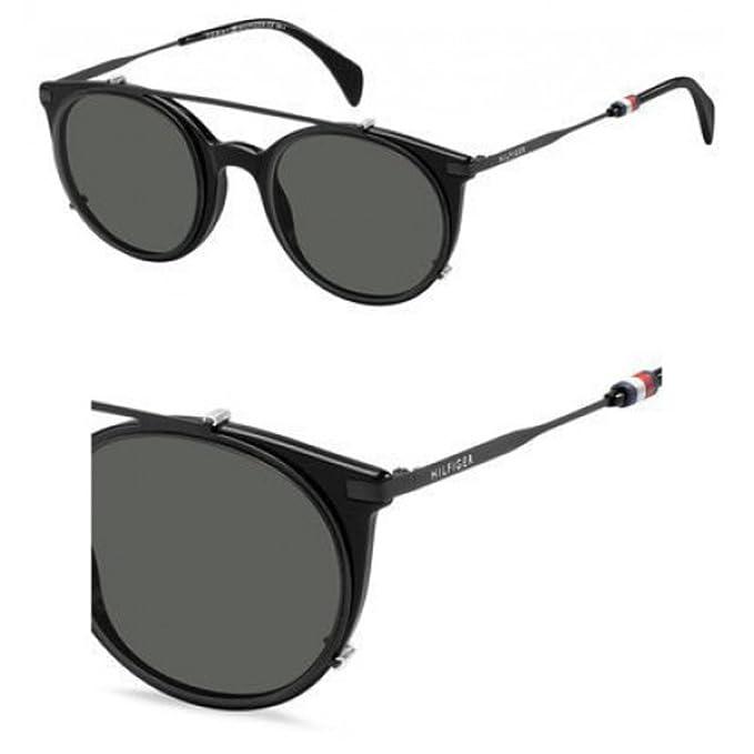 Tommy Hilfiger TH 1475/C 99, Gafas de Sol Unisex-Adulto, Black, 50: Amazon.es: Ropa y accesorios