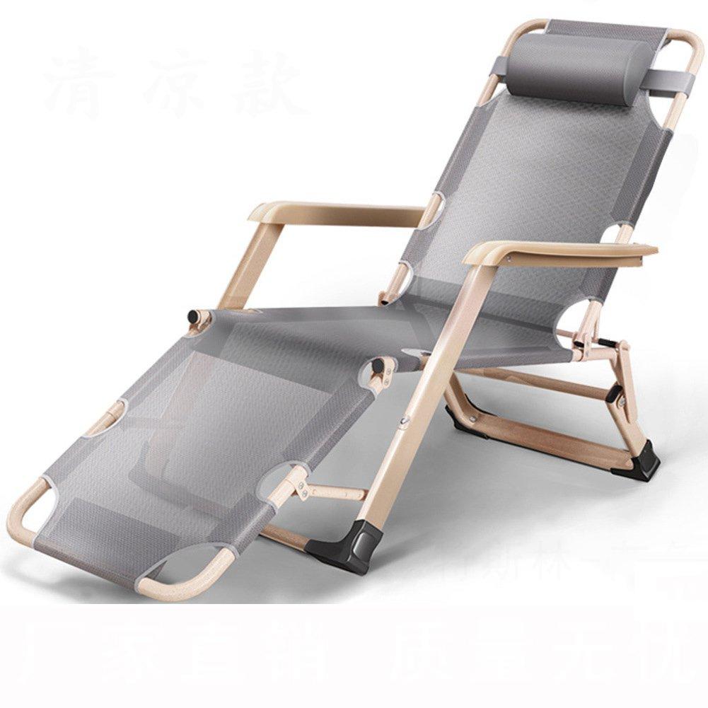 L&J 無重力の椅子, 安定 ポータブル ラウンジチェア 可能 折りたたみ椅子, オフィス バルコニー 庭 パティオ ビーチ プール 屋外 花火大会 B07F5BR3DT I I