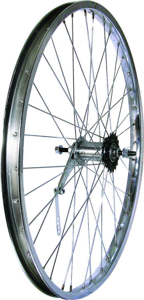Wheel Steel 26 Coaster Brake Chrome