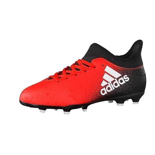 new product 7a901 446d0 adidas X 16.3 FG J, Botas de fútbol Unisex Niños Amazon.es Zapatos y  complementos