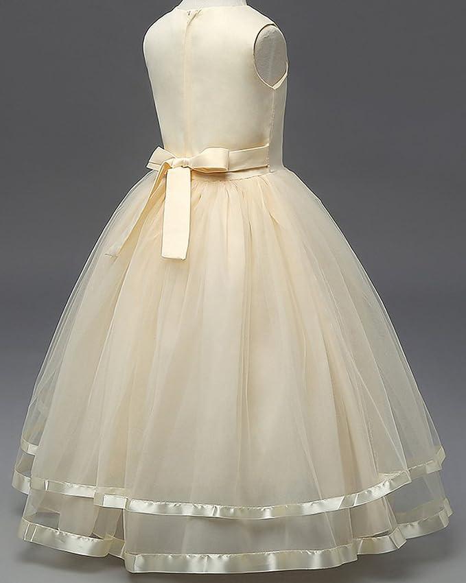 Vestidos De Princesa Elegante Para Bébes Y Niñas De Bautizo De Fiesta: Amazon.es: Ropa y accesorios
