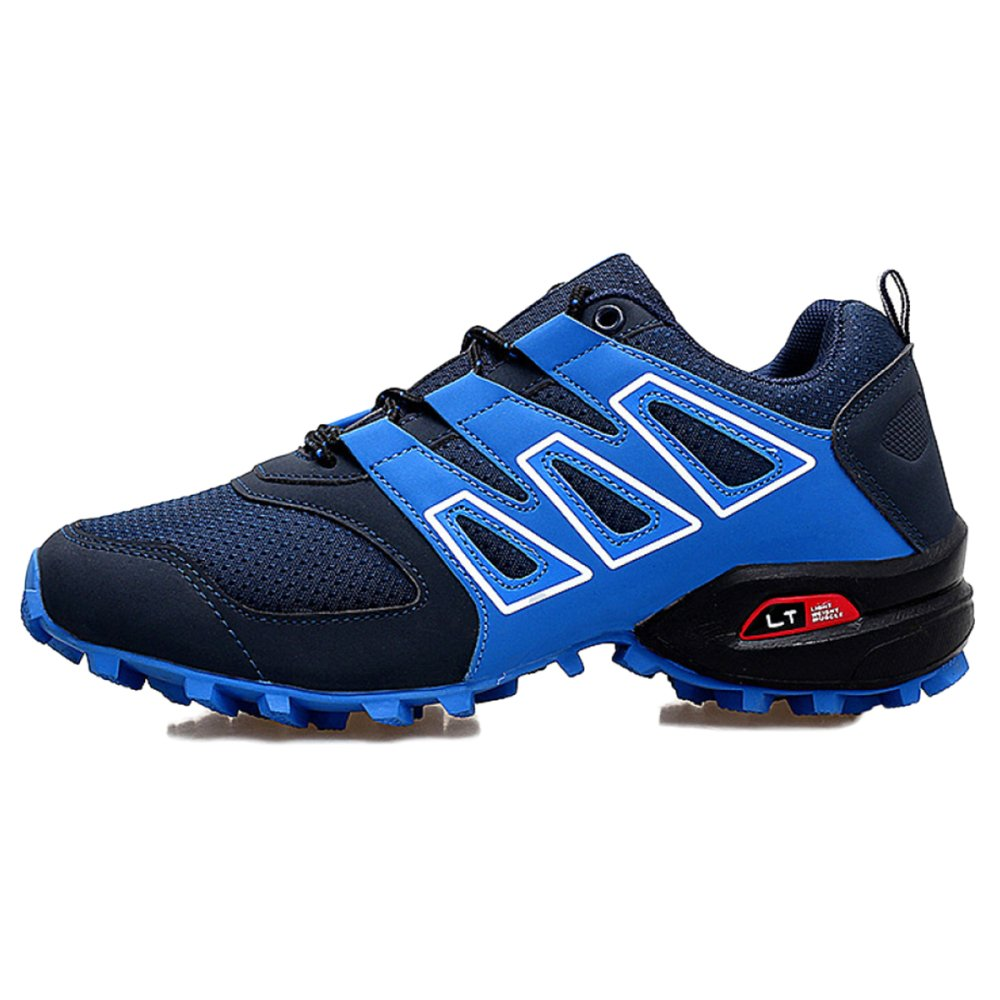 Zapatos Zapatos Zapatos De Trail Running LadiesTrail Runner Zapatos Cómodos Antideslizantes para Hombres Clásicos Zapatos De Montaña De Gran Tamaño Antideslizantes para Caminar,Azul-40 7af24b