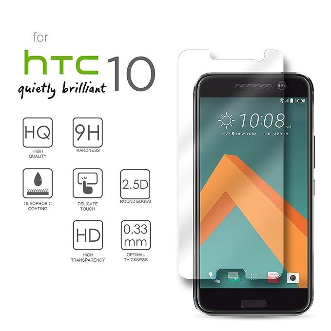 1 opinioni per HTC 10 proteggi schermo, eProte® ultra sottile protezione schermo vetro