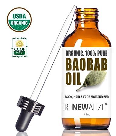 USDA Certified Organic Baobab Oil