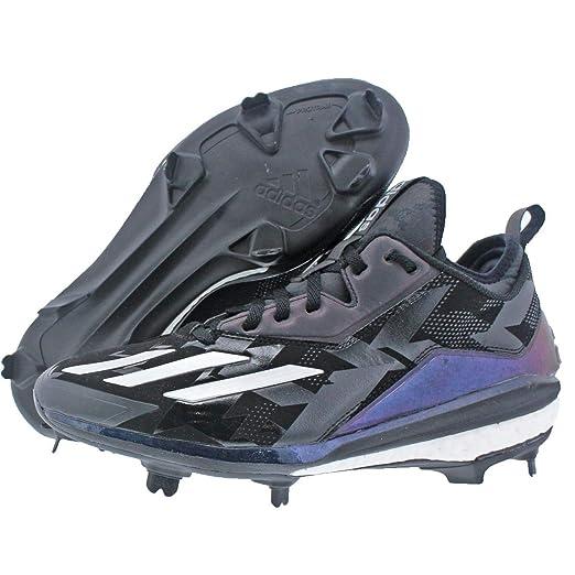 quality design fd16b 2b6a1 Amazon.com adidas Boost Icon 2 Xeno BlackSilver Baseball Shoes (B42909)  Sports  Outdoors