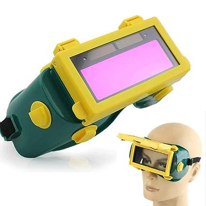 Gafas de soldar, solar, oscurecimiento automático, LCD, casco de soldadura, máscara