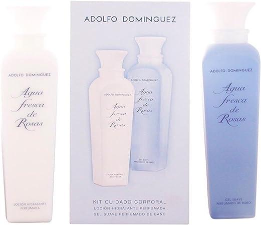 Adolfo DomíNguez - Estuche de regalo agua fresca de rosas: Amazon.es: Belleza