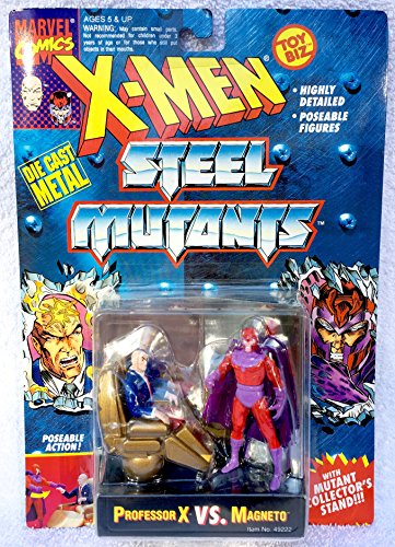(X-men Steel Mutants Professor X Vs.)
