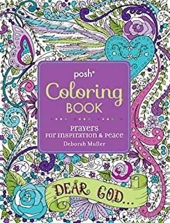 Posh Adult Coloring Book Prayers For Inspiration Peace Books