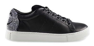 newest 2cac4 663c5 LOLA CRUZ Damen Wink Sneaker mit Fell Negro, Größe 38 ...