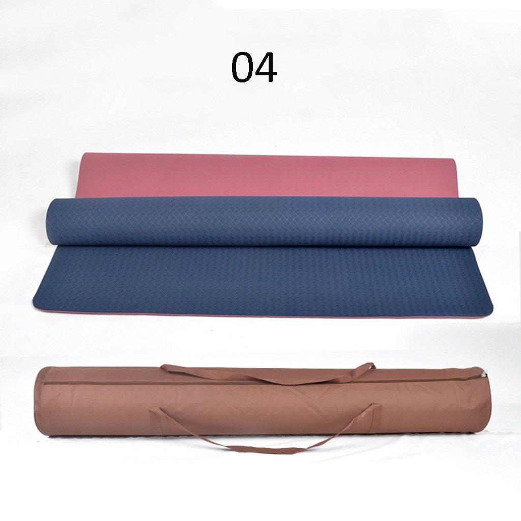 Doppel Yoga Matten Anfänger Fitness Matten