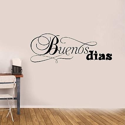 Amazon.com: Vinyl Wall Decal Wall Stickers Art Decor Spanish ...