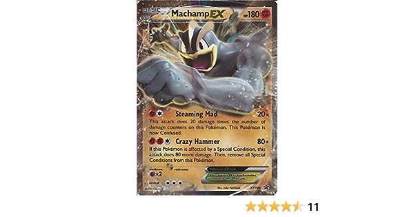 Pokemon card-mackogneur ex xy108-promo-new