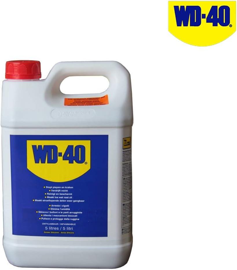 WD40 lubricante de aceite penetrante en 5 litros: Amazon.es: Bricolaje y herramientas