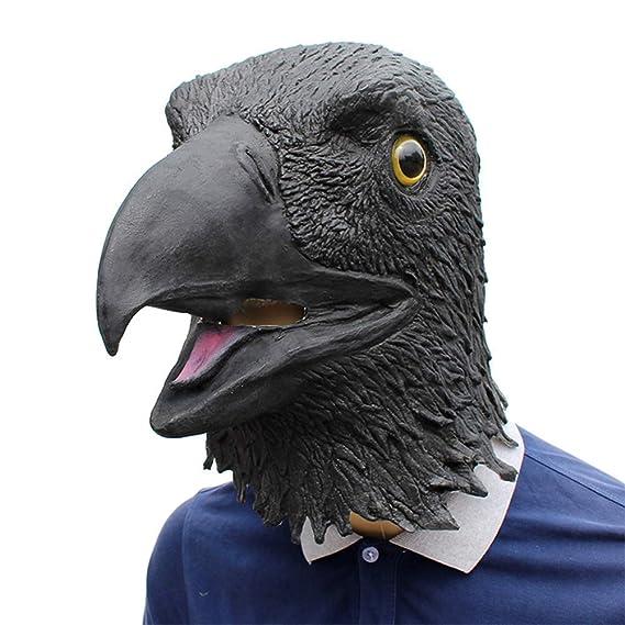 DollylaStore Máscara de Moda única Máscara de águila Emulsión ...