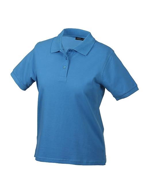 Hochwertiges Polohemd mit Armbündchen Classic Polo Ladies in aqua Grösse: S