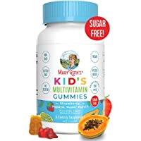 Vegan Kids Multivitamin Gummies by MaryRuth's - Organic Ingredients - Immune Boost - Methylfolate - Sugar Free - Non-GMO…
