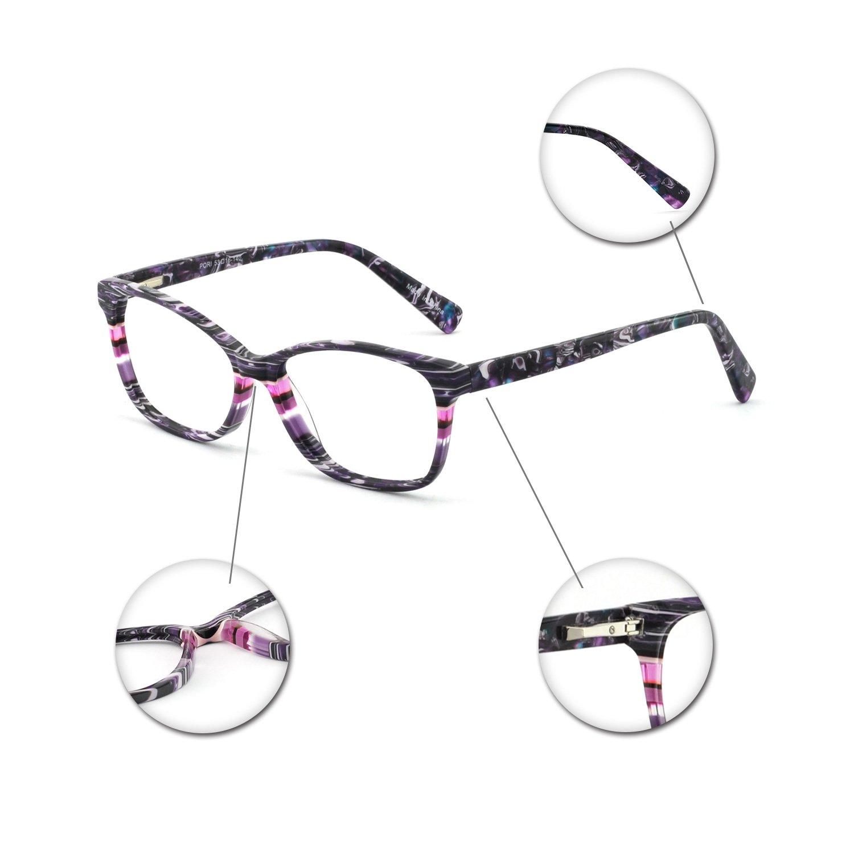 179302c4ca OCCI CHIARI Gafas de mujer marco gafas ópticas Montura de gafas gafas de  moda marco de los Gafas se ajusta a la mayoría de la multitud: Amazon.com.mx:  Ropa, ...