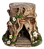 New Creative Tree Stump Lighted Fairy House
