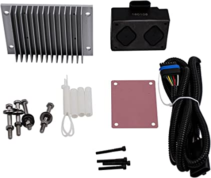 labwork-parts Fuel Pump Driver Module PMD Relocation Kit Set fit for Chevy GMC 6.5L Diesel