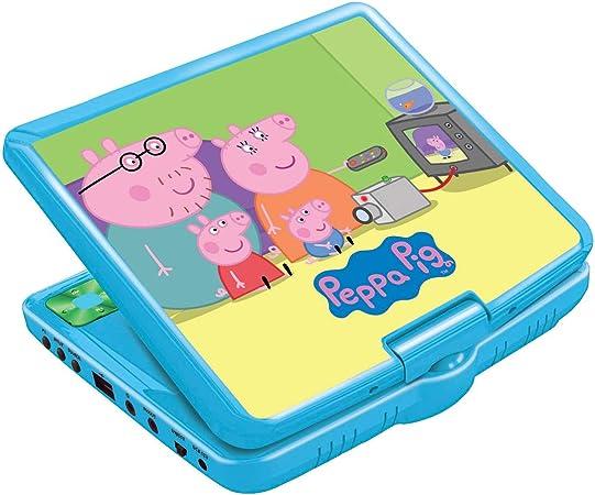 Amazon.es: Peppa Pig Lector DVD portátil con Puerto USB y Mando, Pantalla 7