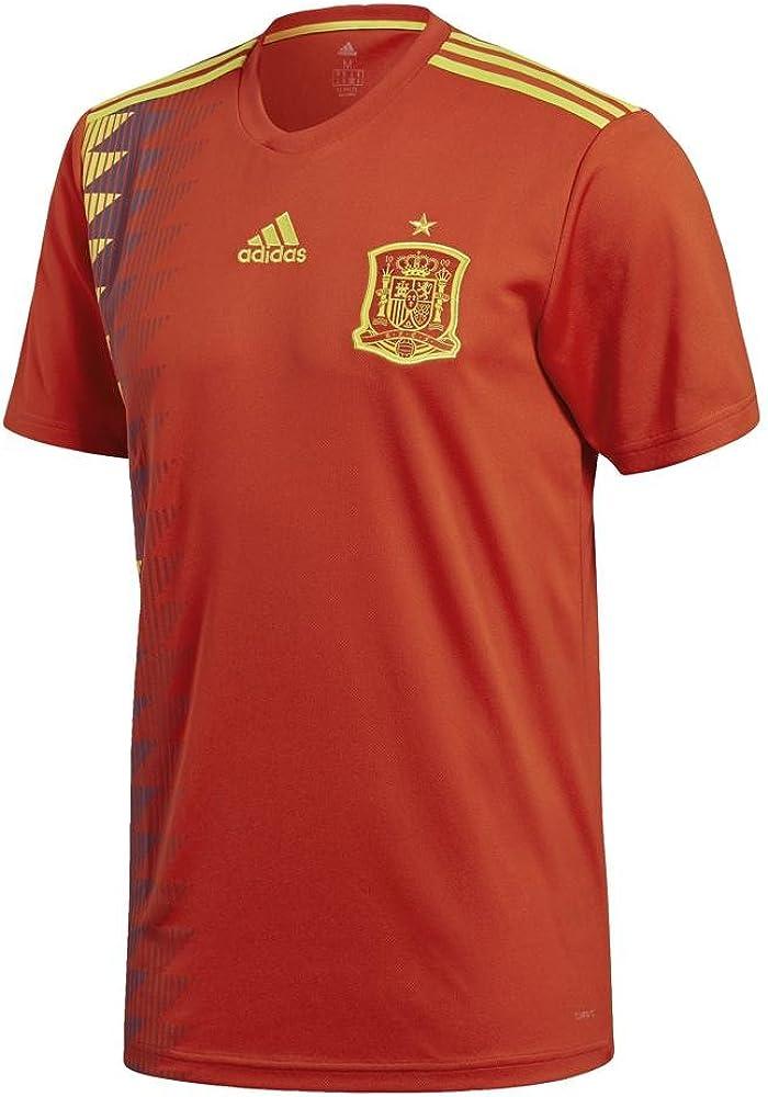 adidas 2018-2019 Spain Home Football Soccer T-Shirt Jersey