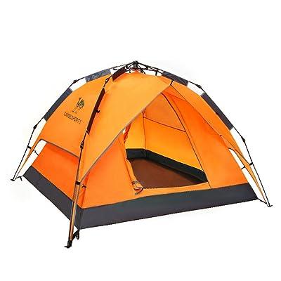 tente de pluie tente automatique de camping 3-4 personne extérieure à double détente Dome
