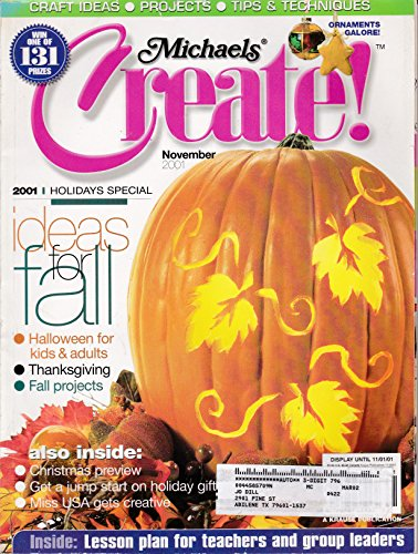 Michaels Create! (November 2001, Holidays Special) -