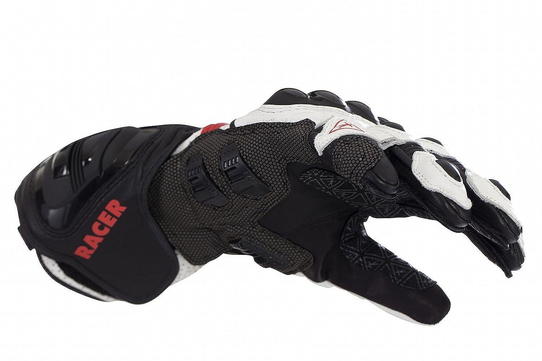 Racer R-Safe Handschuh Rot-Wei/ß Gr/ö/ße 2XL