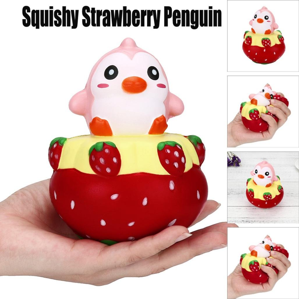 12cm Jumbo Squishy Cartoon Puppy Scented Slow Rising Squeeze Charm Collect Stress Reliever Toy Collection (Multicolor, Size: About 11cmx 10cmx 10cm)