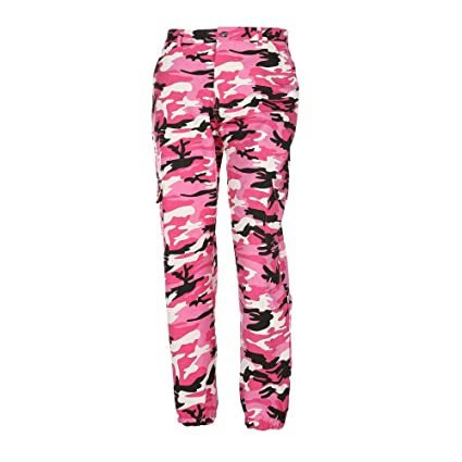 Amazon.com  CSSD Women Sports Camouflage Cargo Outdoor Pants Casual ... 005677bba06
