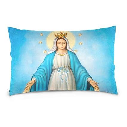 Donnnapink Holly Mary Bendita Virgen María Nuestra Señora de ...