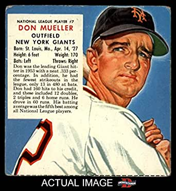 1954 7 nl x don mueller new york